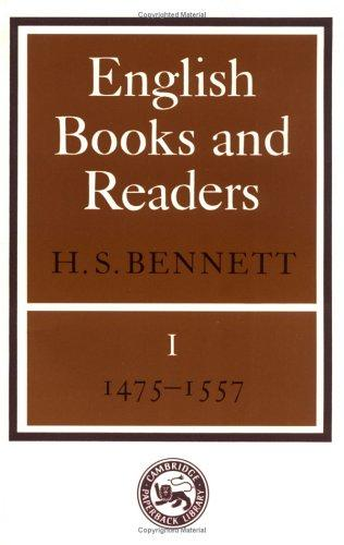 Download English Books and Readers 1475 to 1557