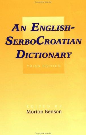 An English-SerboCroatian dictionary