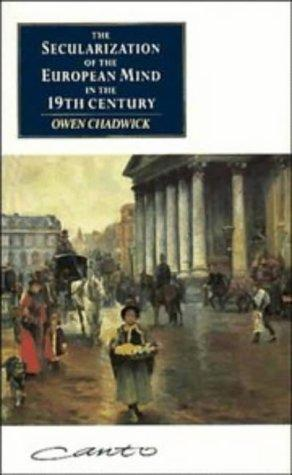 Download The secularization of the European mind in the nineteenth century