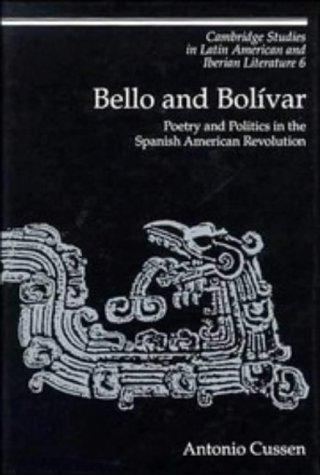 Bello and Bolívar