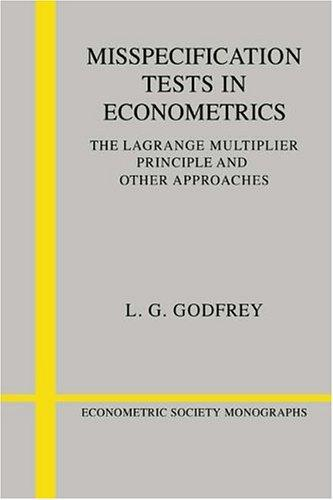 Download Misspecification Tests in Econometrics