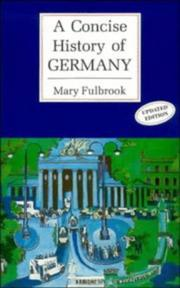 Thumbnail of A Concise History of Germany (Cambridge Concise Histories)