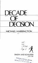 Download Decade of decision