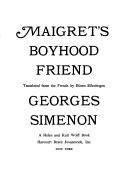 Maigret's boyhood friend.