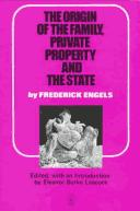 Download The origin of the family, private property, and the state, in the light of the researches of Lewis H. Morgan