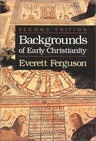 Download Backgrounds of early Christianity