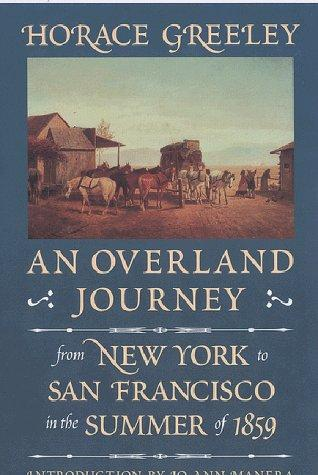Download An overland journey from New York to San Francisco in the summer of 1859