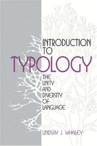 Download Introduction to typology
