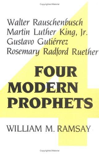 Four modern prophets by William M. Ramsay