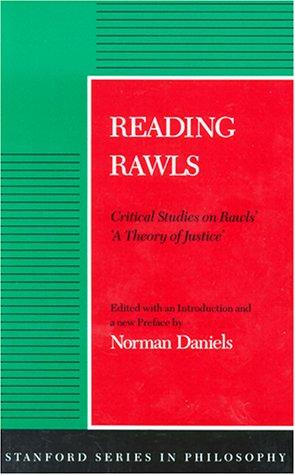 Download Reading Rawls