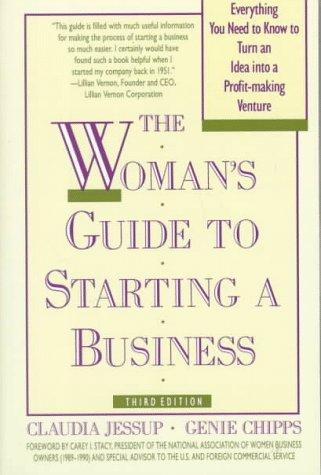 The woman's guide to starting a business