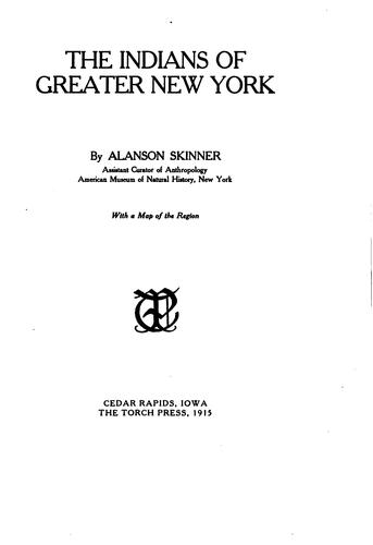 Download The Indians of Greater New York