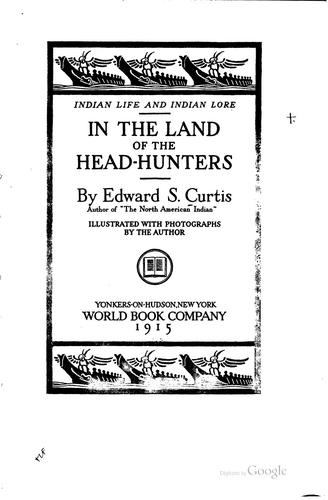 Download In the land of the head-hunters