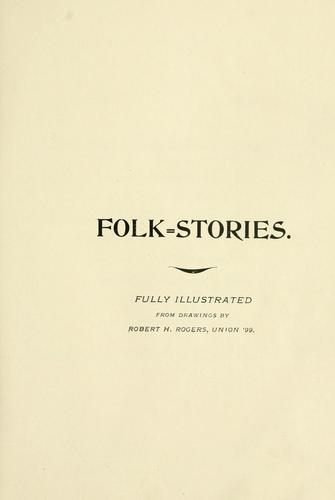 Download Folk-stories of the northern border.