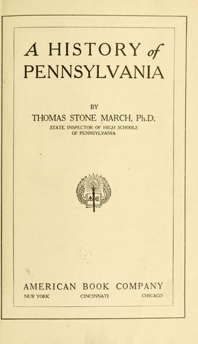 Download A history of Pennsylvania.