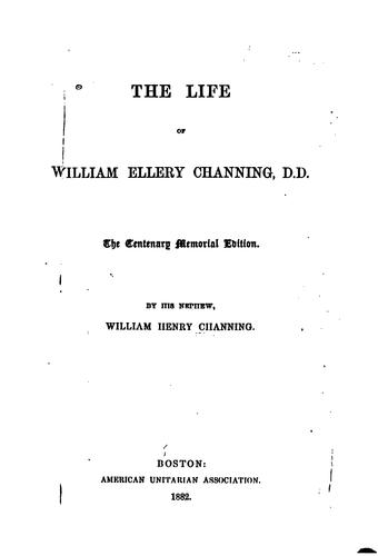 Download The life of William Ellery Channing, D.D.