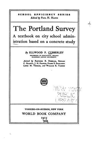Download The Portland survey