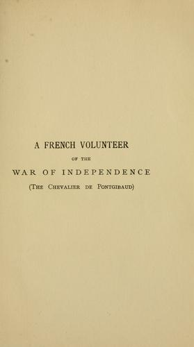 Download A French volunteer of the war of independence