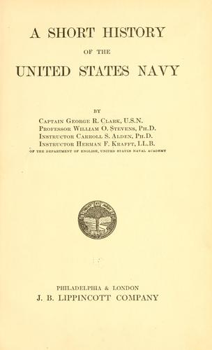 Download A short history of the United States Navy