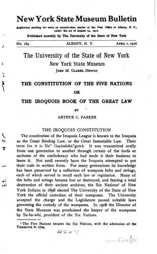 Download The constitution of the Five nations