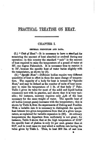 Download A practical treatise on heat