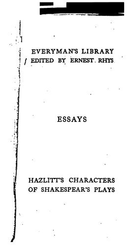 Download Characters of Shakespear's plays.