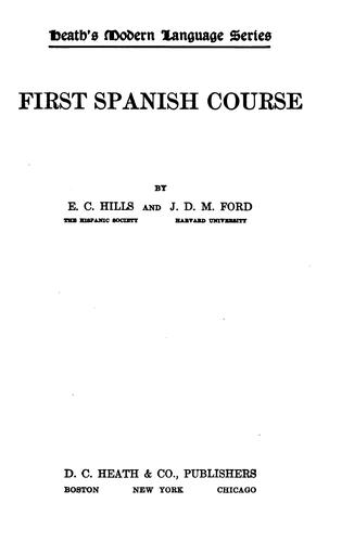 Download First Spanish course