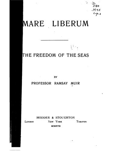 Download Mare liberum