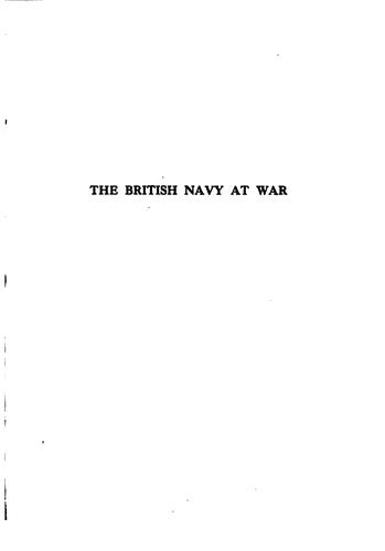The British navy at war