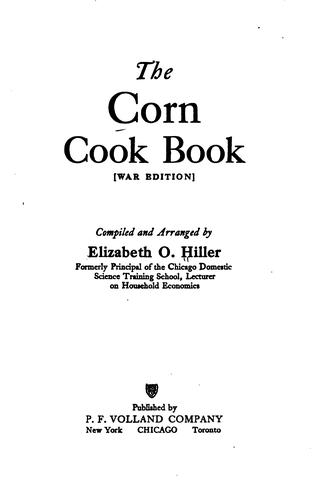 Download The corn cook book.