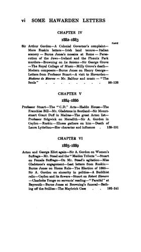 Download Some Hawarden letters, 1878-1913