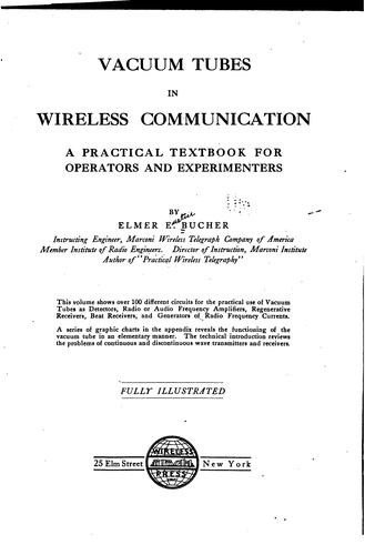 Vacuum tubes in wireless communication
