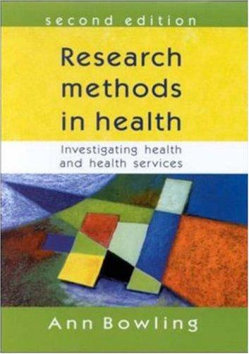 Download Research Methods in Health