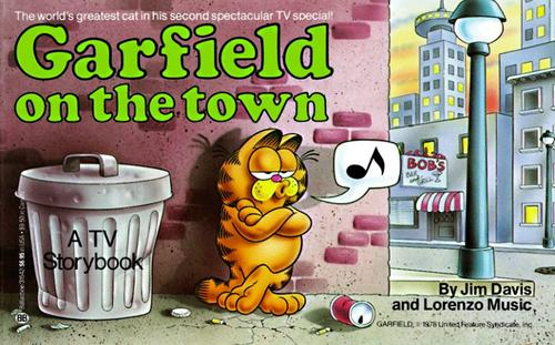 Download Garfield on the town
