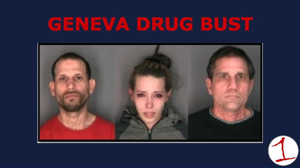 Three arrested on felony drug charges after traffic stop