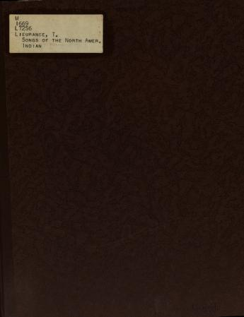 Songs of the North American Indian by Thurlow Lieurance