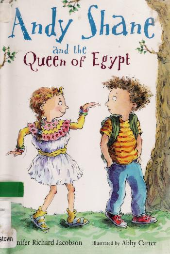 Cover of: Andy Shane and the Queen of Egypt | Jennifer Jacobson