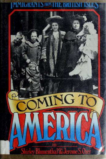Coming to America by Shirley Blumenthal