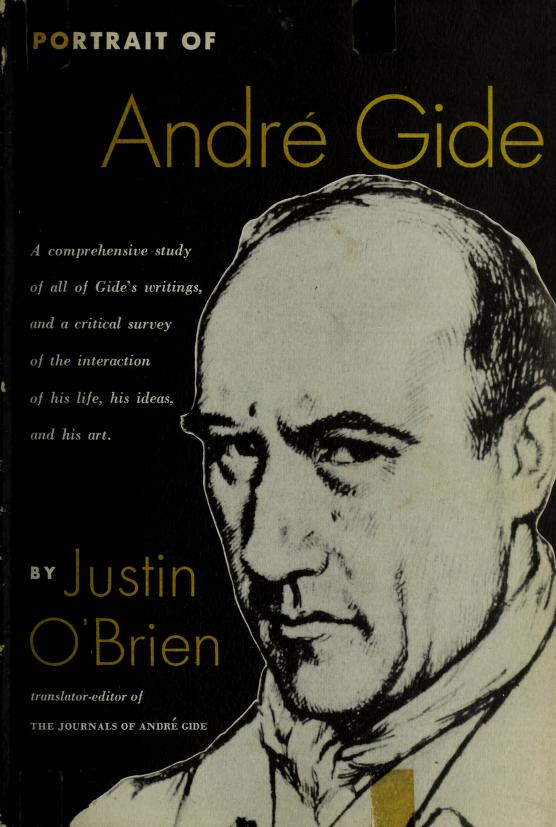Portrait of André Gide by O'Brien, Justin