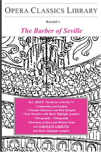 The Barber of Seville by Burton D. Fisher