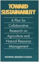 Toward Sustainability by National Research Council.
