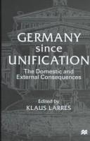 Germany Since Unification