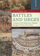 Dictionary of Battles and Sieges by Tony Jaques