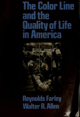 The color line and the quality of life in America