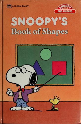 Snoopy's Bk Of Shapes Concept (Snoopy and Friends) by Golden Books