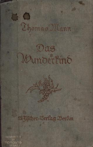 Das Wunderkind by Thomas Mann