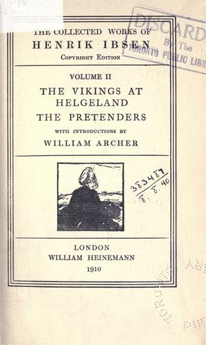 The vikings at Helgeland by Henrik Ibsen