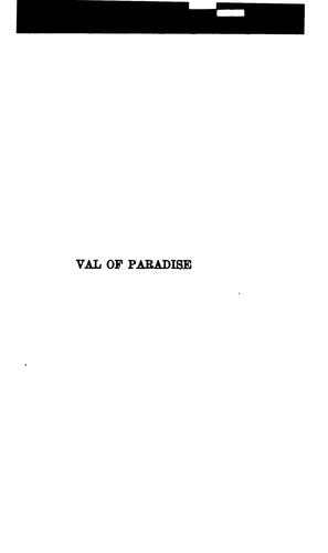 Val of Paradise by Vingie E. Roe