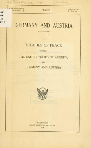 Germany and Austria by United States