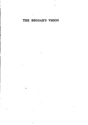 The beggar's vision by More, Brookes